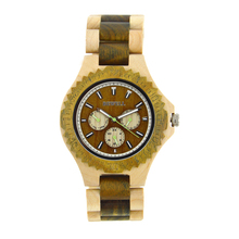 купить Bewell Men Watches Bracelet Watch Ladies Cool Design Flower Skull Wooden Handmade Full Wood Band Casual Nature Wood Clock 116B по цене 2408.55 рублей
