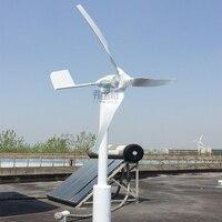 800W rated power 600w wind generator with wind solar hybrid MPPT 12v 24v AUTO hybrid controller
