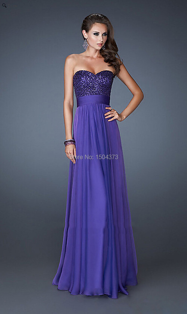 Hot 2015 Silver Purple Sequins Sheath Off The Shoulder Prom Dress Evening  Dress Sweetheart Long Flowy Prom Gowns Custom 3b7d5d30350d