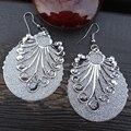 Joyería de moda Sweety pendientes largos para mujeres recorte pendientes de gota Wave Designer Jewelry Bijoux Brincos
