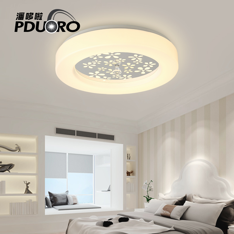 Modern LED Ceiling Surface Mounted Modern Led Crystal Ceiling Lights For Living Room Bedroom Light Fixture Indoor Lighting modern 3 6 lights crystal glass clear wineglass wine glass ceiling light lamp bedroom dining room fixture gift ems ship