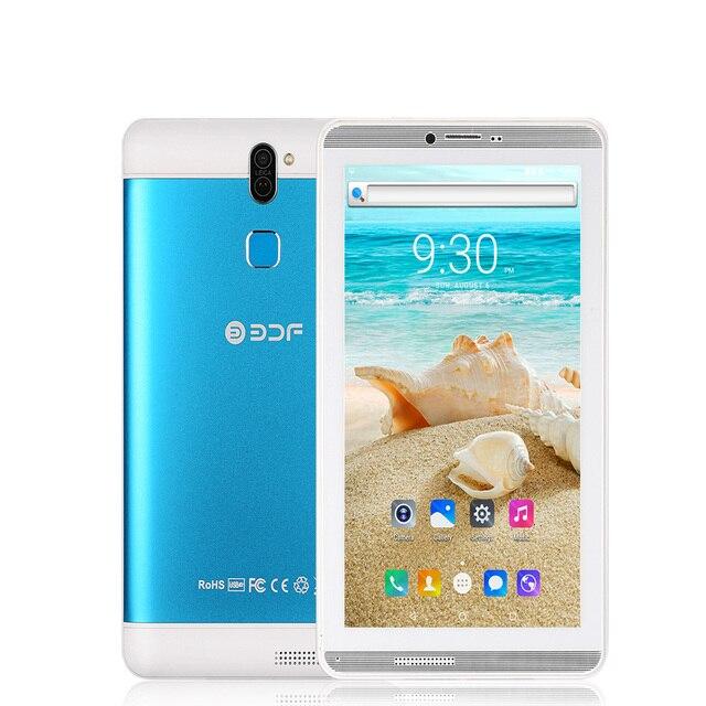 7 Inch 1 GB RAM + 16 GB ROM Máy Tính Nhỏ Máy Tính Bảng Pc 3G Dual SIM Thẻ Điện Thoại Di Động Di Động cuộc Gọi điện thoại Android 6.0 Máy Tính Bảng Pc Bluetooth FM