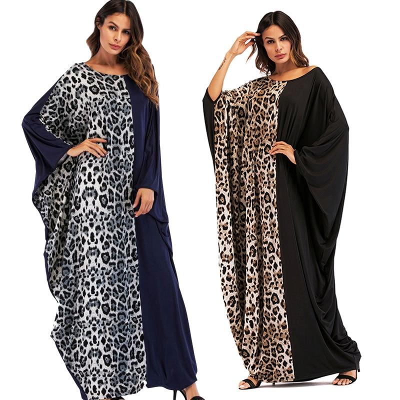 100% Waar 2019 Dashiki Afrikaanse Jurken Voor Vrouwen Luipaard Print Lange Jurk Elegant Robe Africaine Bazin Femme Ropa Africana Mujer Uitstekende Eigenschappen