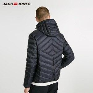Image 3 - JackJones erkek hafif taşınabilir aşağı ceket parka ceket erkek giyim 218312510