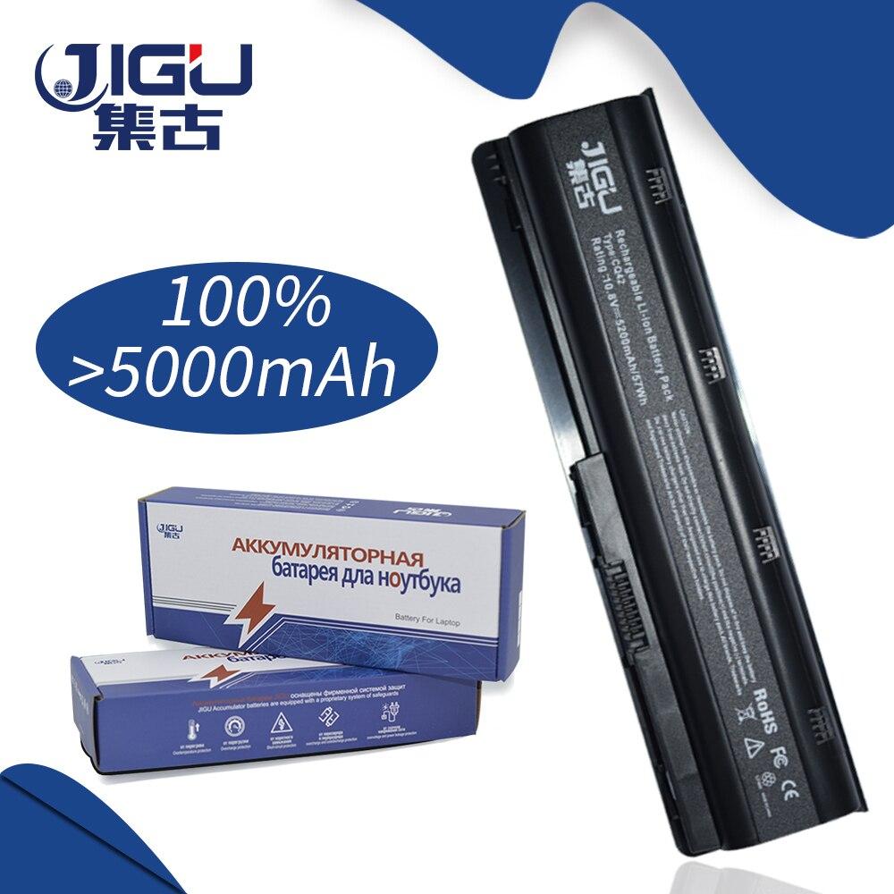JIGU Laptop Battery For HP Compaq Notebook Battery MU06 593553-001 593554-001 593554-001 For PAVILION G6-2214 SR HSTNN-LBOW iecwanx 100% new laptop battery fmvnbp225 7 2v 36wh 5000mah for fujitsu stylistic q572 w7d 001 q572 w8 001 q572 g q572