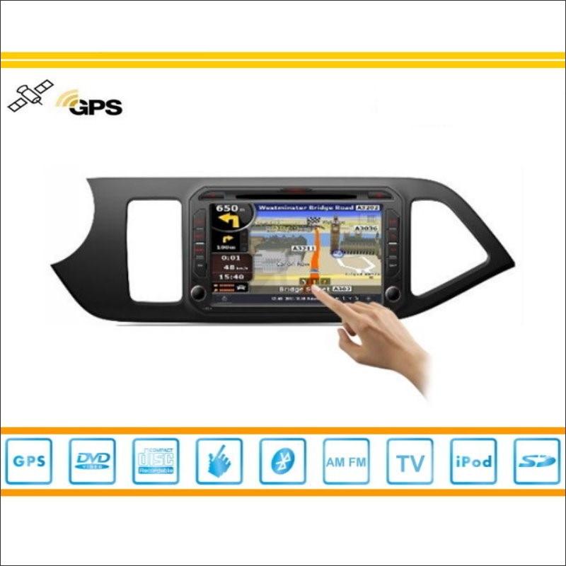 Android Car Multimedia Para KIA Picanto con Volante A La Derecha 2012 ~ 2014 Rad