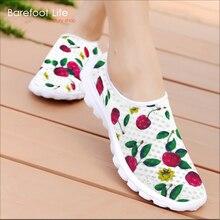 Nueva primavera y verano de las mujeres zapatillas de deporte,, uso de impresión 3D de malla de aire respirable zapatos deportivos mujeres, luz confortable zapatos corrientes de las mujeres