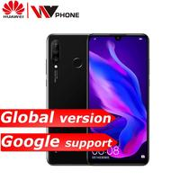 huawei p30 lite mobile phone 6.15 inch 3 rear Camera Kirin710 Octa Core face ID Android 9.0 fingerprint id