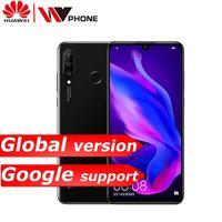 huawei p30 lite mobile phone 6.15 inch 3 rear Camera Kirin710 Octa Core face ID Android 9.0 fingerprint id