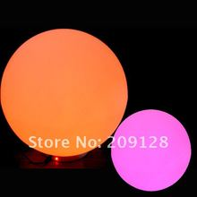 20cm waterproof ip68 rechargeable 16 colors change led glow globe swimming ball