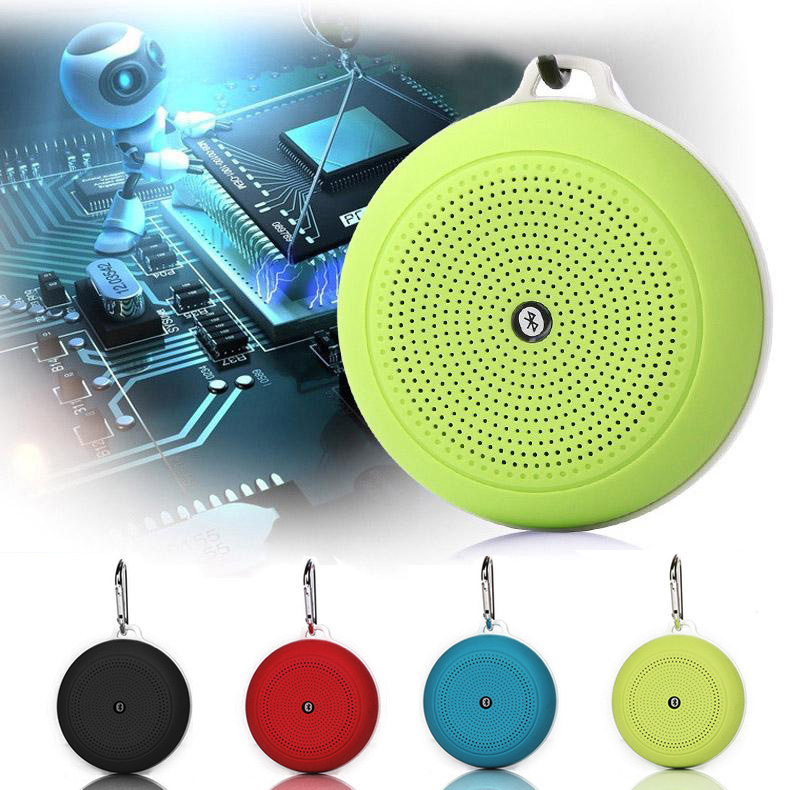 Mini Wireless Bluetooth V4.0 Speaker Portable Speaker Support Hands-free Function TF Card for Bike Smartphones @JH
