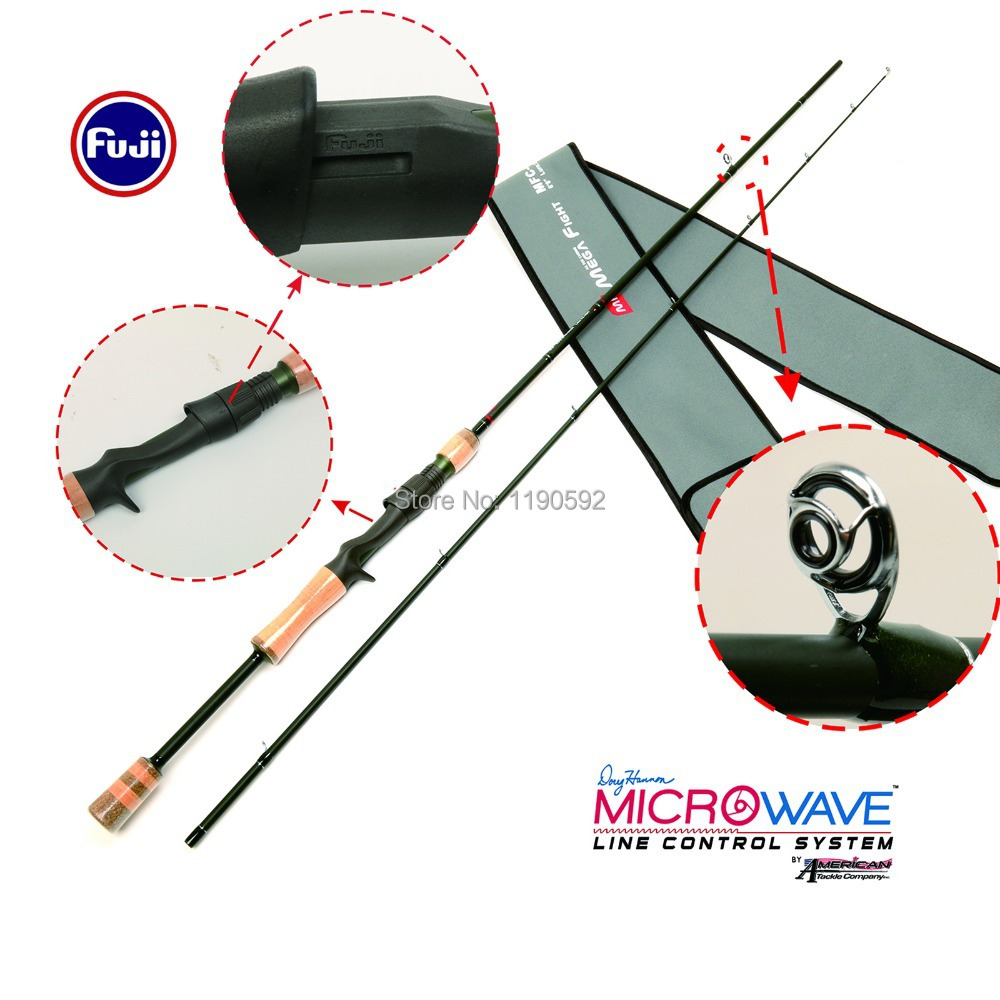 Free Shipping!! MFC 682MH 30T+36T/ IM8 carbon Megafight casting rod American tackle Micro-wave Duralite Ring casting fishing rod 30t 36t im8 carbon megafight casting rod american tackle micro wave duralite ring casting fishing rod