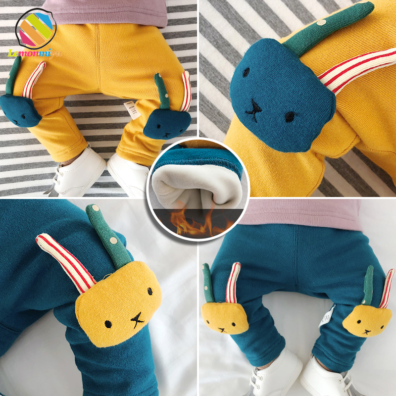 Lemonmiyu Warm-Pants Baby-Boys-Girls Winter Trousers Harem Toddler Newborn Unisex Casual