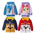 New Boys girls jacket children dog hoodies Kids Long Sleeve Top Children Coat Cotton Sweatshirts