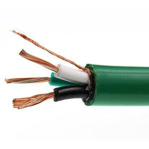 Image 5 - HIFivv аудио кабель динамика Y Тип разъем жар рога линия HiFi Чистая медь акустическая линия 4 ядра звуковой кабель горячая распродажа