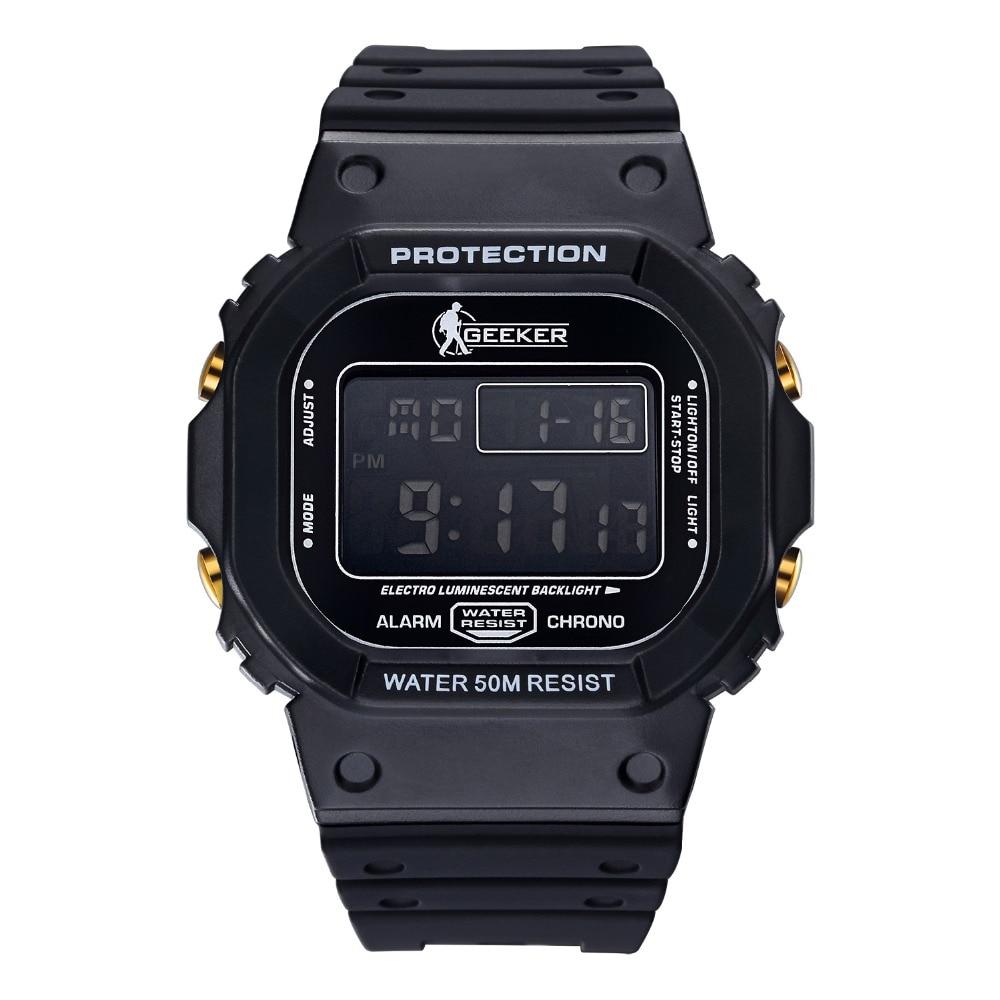 Buy military digital watch 50m waterproof outdoor watches men sport watch with for Outdoor watches