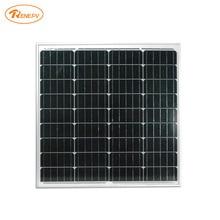 Renepv 60W monocrystalline Silicon Solar Panel 18V for 12V solar battery power charging off-grid solar module factory wholesale