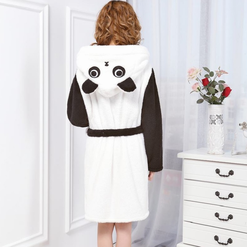 Dressing Gowns For Women Cute Animal Panda Robe Sexy