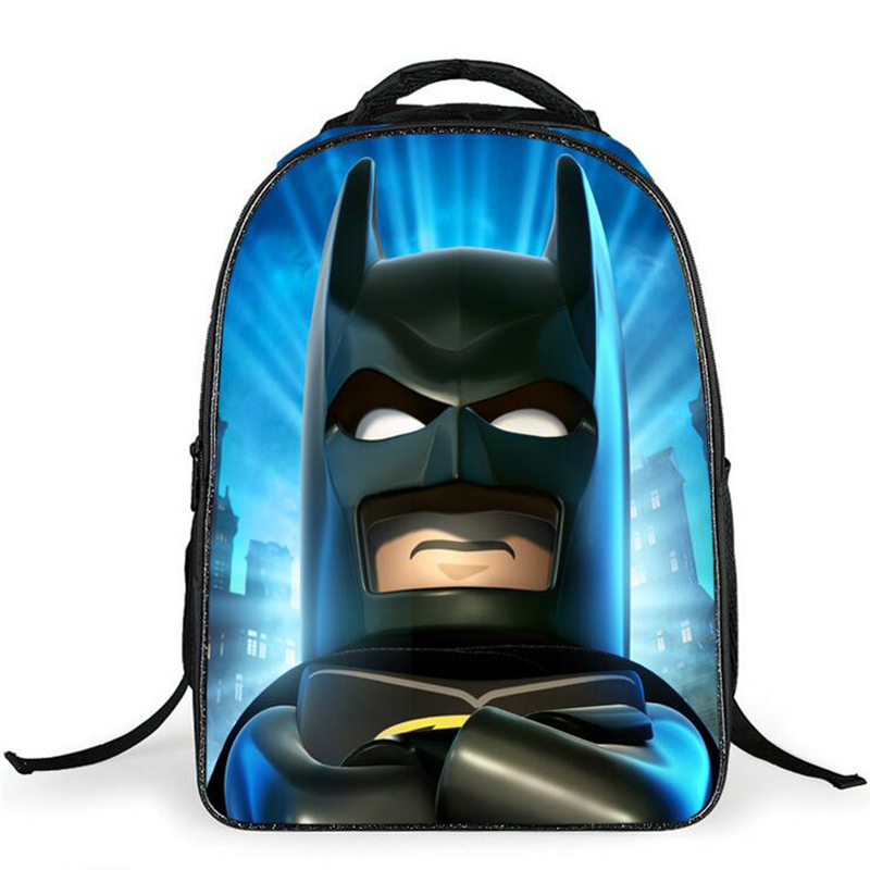 8bfa5bfc73 Batman Scuola elementare Sacchetto di Scuola Zaino Per I Bambini dei  Capretti Del Fumetto Stella Guerra Per Le Ragazze Dei Ragazzi Bookbags in Batman  Scuola ...