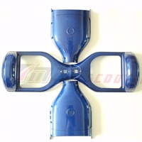 Electric Scooter Plastic Cover Hoverboard Outer Shell Electric Standing Scooter Case Blue Color For 6 5inch