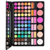 78 Color Eye Shadow Powder Palette Set Kit Include Eyeshadow Lip Gloss Blush Conceal Shimmer Matte