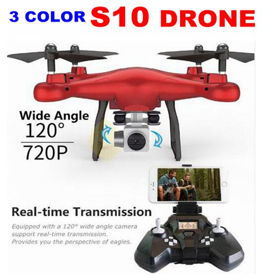 Sale Promotion With HD FPV WIFI 2MP Camera SMRC S10 Quadcopter Micro Remote Control Uav Drone kit Helicopter Racer Aircraft Toy