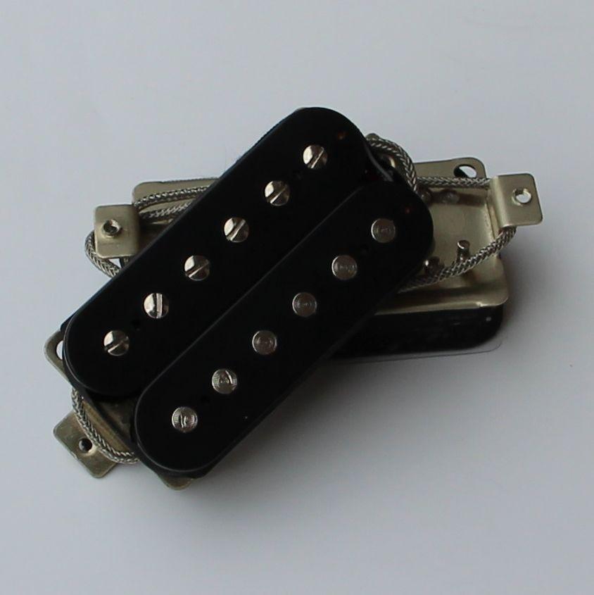 Black Electric Guitar Humbucker Pickup Bridge and Neck Pickup guitar accessories the electric guitar lp pickup huang