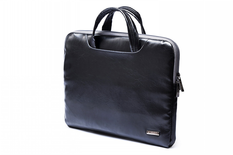 """Image 4 - 2019 New Brand Lisen Leather Handbag Bag For Laptop 11"""",13"""",15"""",15.6 inch,Case For MacBook Air,Pro 13.3"""",15.4""""Free Drop Shipping-in Laptop Bags & Cases from Computer & Office"""