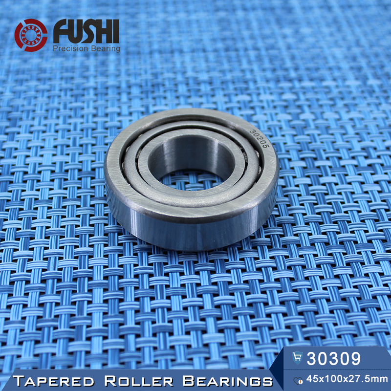 30309 Bearing 45*100*27.5 mm ( 1 PC ) Tapered Roller Bearings 7309E tapered roller bearings 32009 2007109e 45 75 20