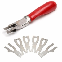 Shellhard Floor Carpet Trimming Skiving Tool Vinyl Flooring Welding Cutting Tool With 6 Blade High Quality