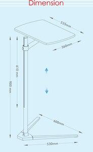 Image 4 - UP 8T متعددة الوظائف 3in1 الكمبيوتر الطابق الوقوف لجميع أجهزة الكمبيوتر المحمول/الكمبيوتر اللوحي/حامل هواتف ذكية الارتفاع/زاوية قابل للتعديل مع علبة الماوس
