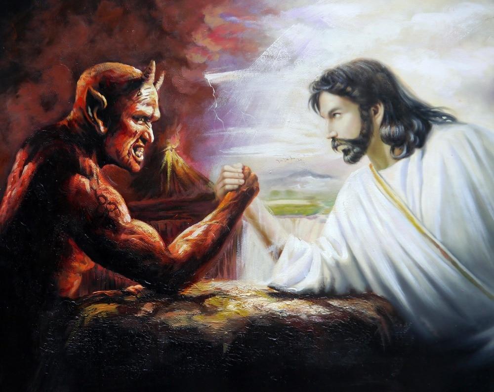 Картинки с дьяволом и богом