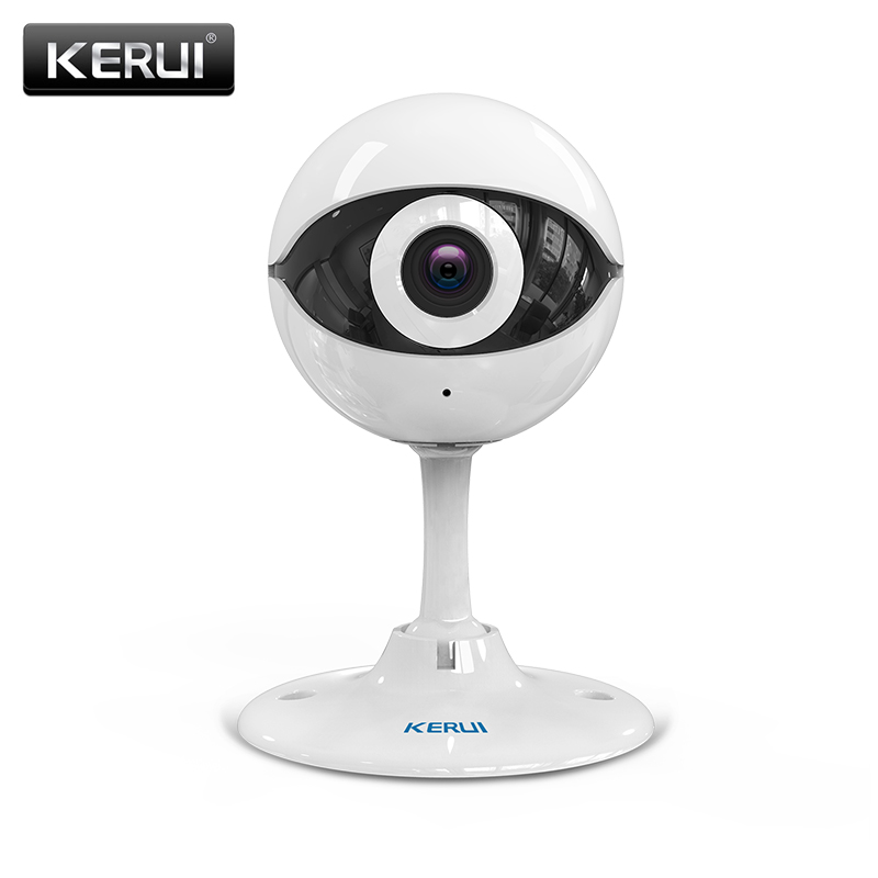 kerui n61 wireless home security ip camera wireless mini ip camera surveillance cctv camera wifi. Black Bedroom Furniture Sets. Home Design Ideas