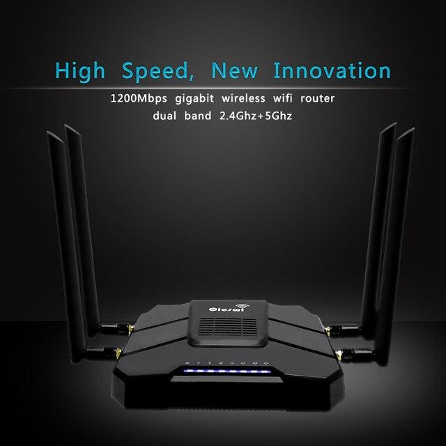 Cioswi WE1326 3g 4g Modem z gniazdo karty Sim dwuzakresowy Router MT7621A układu 802.11AC 5GHz wzmacniacz sygnału Wifi z 4 anteny zewnętrzne