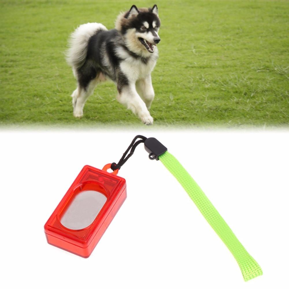 100% Waar Hond Kat Opleiding Clicker Gehoorzaamheid Agility Hulp Wrist Strap Voor Hond Puppy Klik Tools Dierbenodigdheden C42