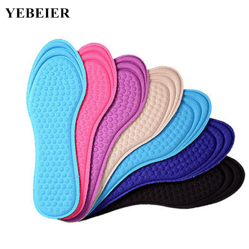 1 pair Men/Women  Unisex memory foam soft breathable anti-ador comfortable shoe insoles for foot pain relief expfoot orthotic arch support shoe pad orthopedic insoles pu insoles for shoes breathable foot pads massage sport insole 045