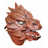 Adult Halloween Party Cosplay Costume Famous Movie Ring Latex Spear Mask Monster Full Face Mask Adult Terror Toy High Quality