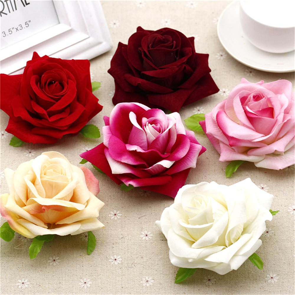 Cheap 2pcslot 10cm simulation of velvet roses bouquet cartoon cheap 2pcslot 10cm simulation of velvet roses bouquet cartoon wedding props wholesale diy materials skil flannelette flowers in artificial dried flowers izmirmasajfo