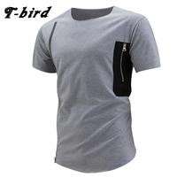 T Bird T Shirt 2017 Fashion Tshirt Men Zipper Men S Short Sleeve T Shirts Casual