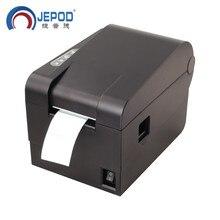 XP 235B オリジナル新 58 ミリメートル熱ラベルプリンタラベルプリンタストッククリアランス価格バーコードラベルプリンタ熱 Driect