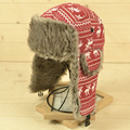 Mens Ear Flaps Winter Bomber Hat Ushanka Russian Hat Warm solid color Man Cap Cozy Bonnet Caps For Men