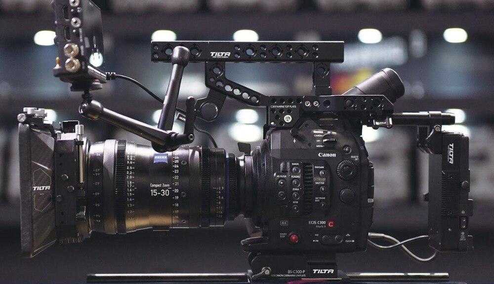 TILTA ES-T16 Tilta pour Canon C300markII rig Top main alimentation système + SDI 1dans/2de 15mm embase livraison gratuite