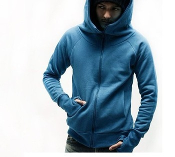2013 Hooded clothes jackets Men's dust coat High Collar Men's Jackets top brand men's free shipping