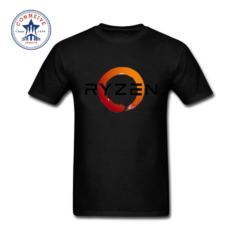 2017 Hot Selling Funny PC CP Uprocessor AMD RYZEN Cotton T Shirt for men