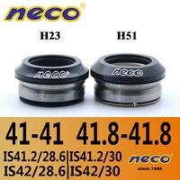 Auriculares para bicicleta Neco 41 41 8mm IS41 IS42 IS41.8  auriculares con rodamientos integrados  cabeza recta  bicicleta de carretera  MTB|Auriculares para ciclismo| |  -