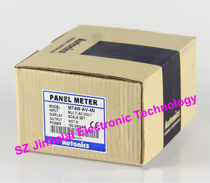 все цены на 100% New and original  MT4W-AV-4N  Autonics  PANEL METER онлайн