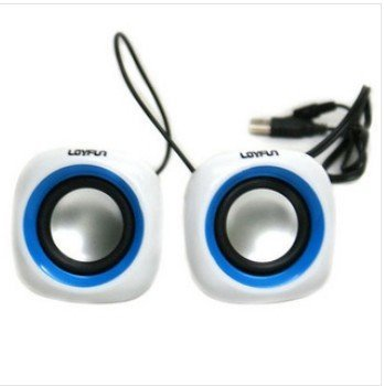 mini notebook usb double speakers/computer speakers/speaker box ,freeshipping