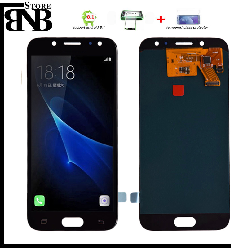 5.2'' Amoled lcd For <font><b>Samsung</b></font> <font><b>Galaxy</b></font> <font><b>J5</b></font> <font><b>2017</b></font> J530 J530F AMOLED LCD <font><b>Display</b></font> Touch Screen Digitizer Assembly <font><b>J5</b></font> Pro <font><b>2017</b></font> image