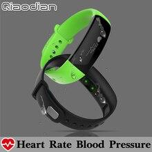 5 цветов Водонепроницаемый Приборы для измерения артериального давления сердечного ритма Мониторы Смарт-фитнес Браслет Шагомер Смарт Группа Браслет PK Xiaomi Mi band 2