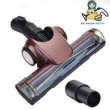Muñeca limpia cabezal de cepillo de aspiradora de 32mm/35mm, aspiradora Turbo de cabezal de cepillo para suelos duros accionado por aire, accesorio para alfombras